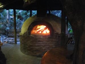 Brick oven at Mango Inn. So beautiful.