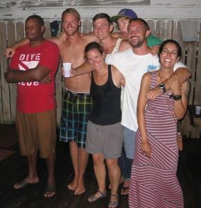 Divemasters pre-snorkel test