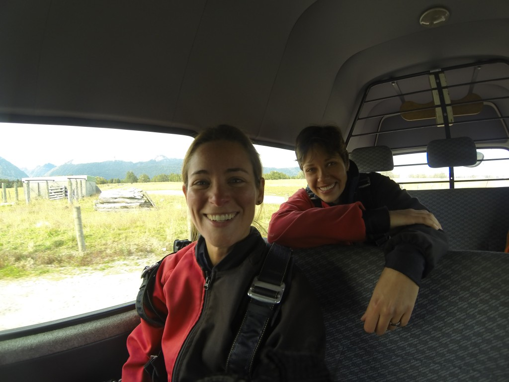 post-skydive