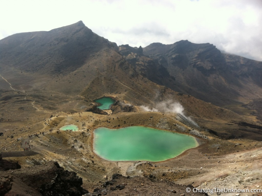 These green pools are a breathtaking surprise after the hardest climb of the hike.