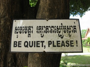 Quiet-please-sign