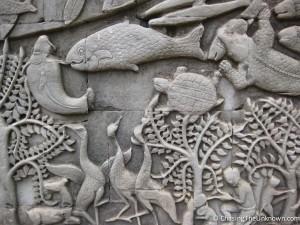 Bayon-carving