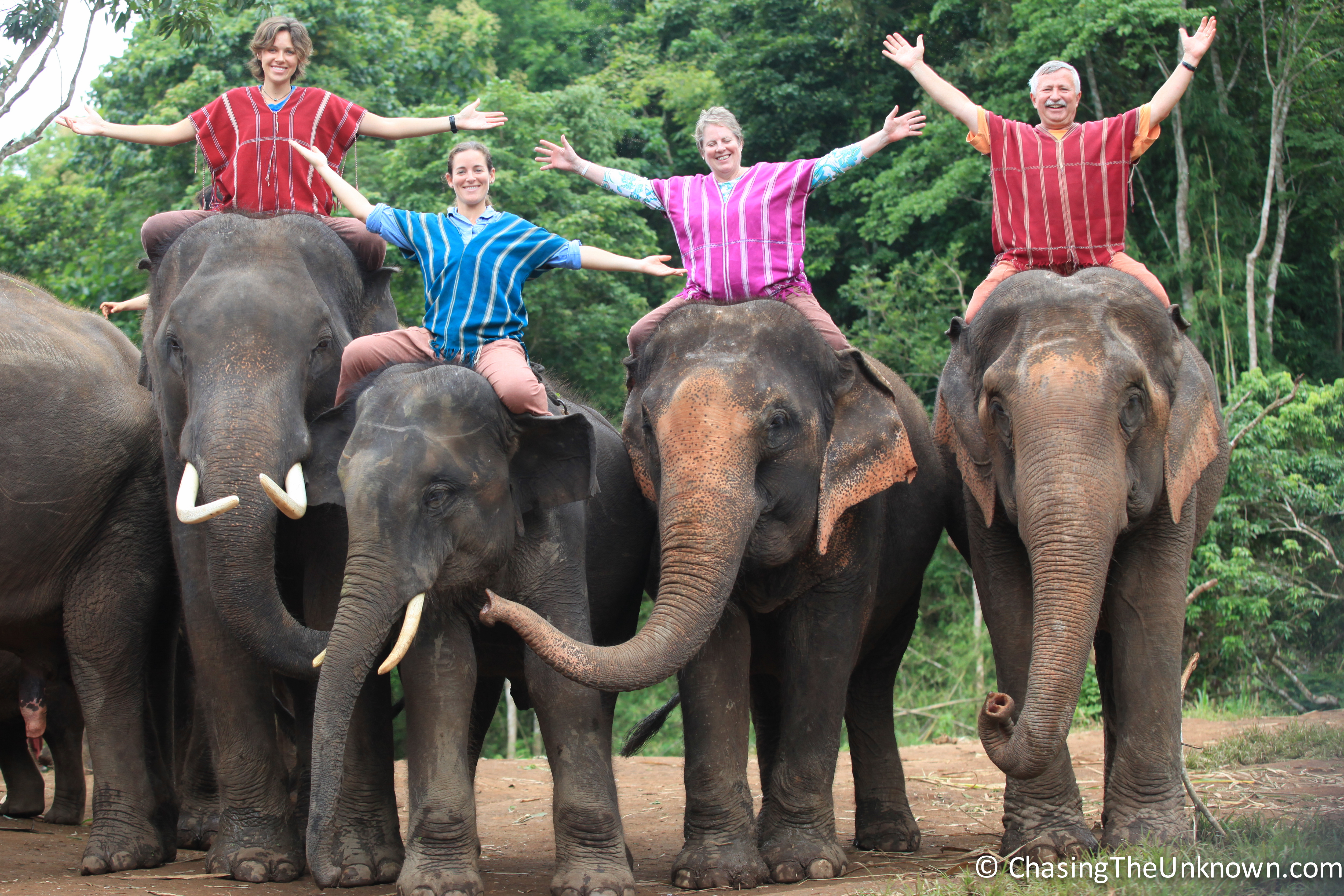 An Elephant Ride to Remember