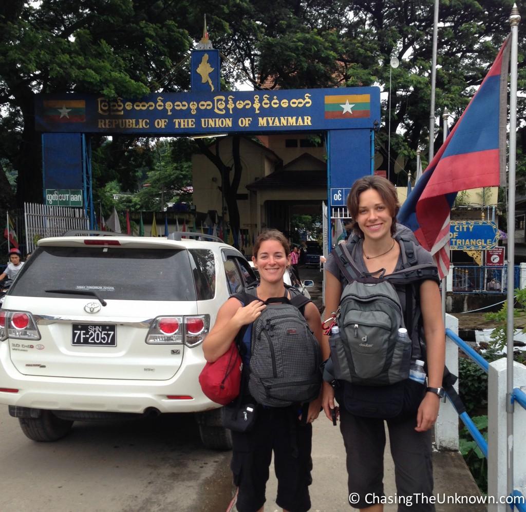 Myanmar-border