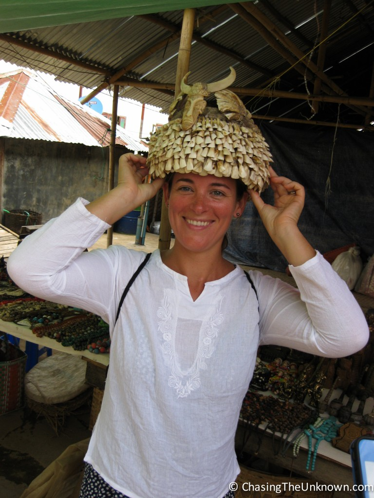 Myanmar-cow-teeth-headpiece