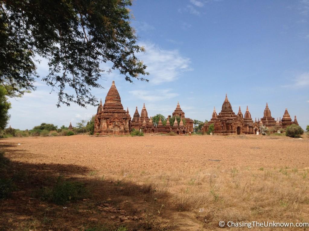 Bagan-stupas
