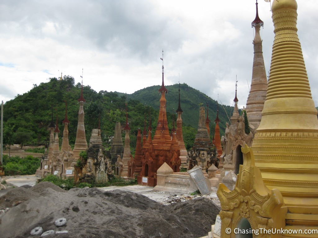 indein-stupas