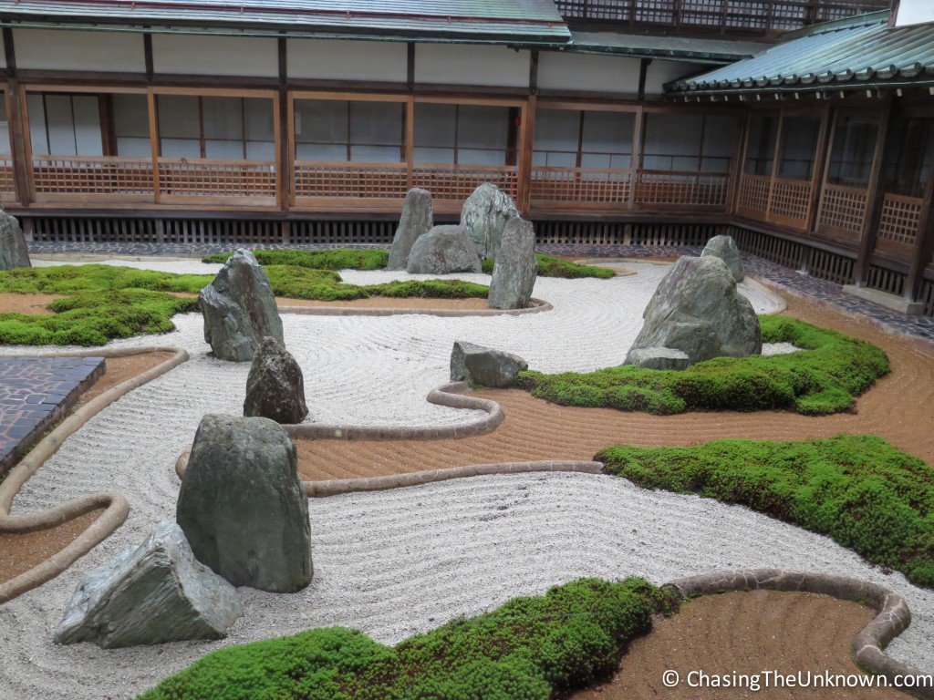 The Zen rock garden at Fukuchi-in.