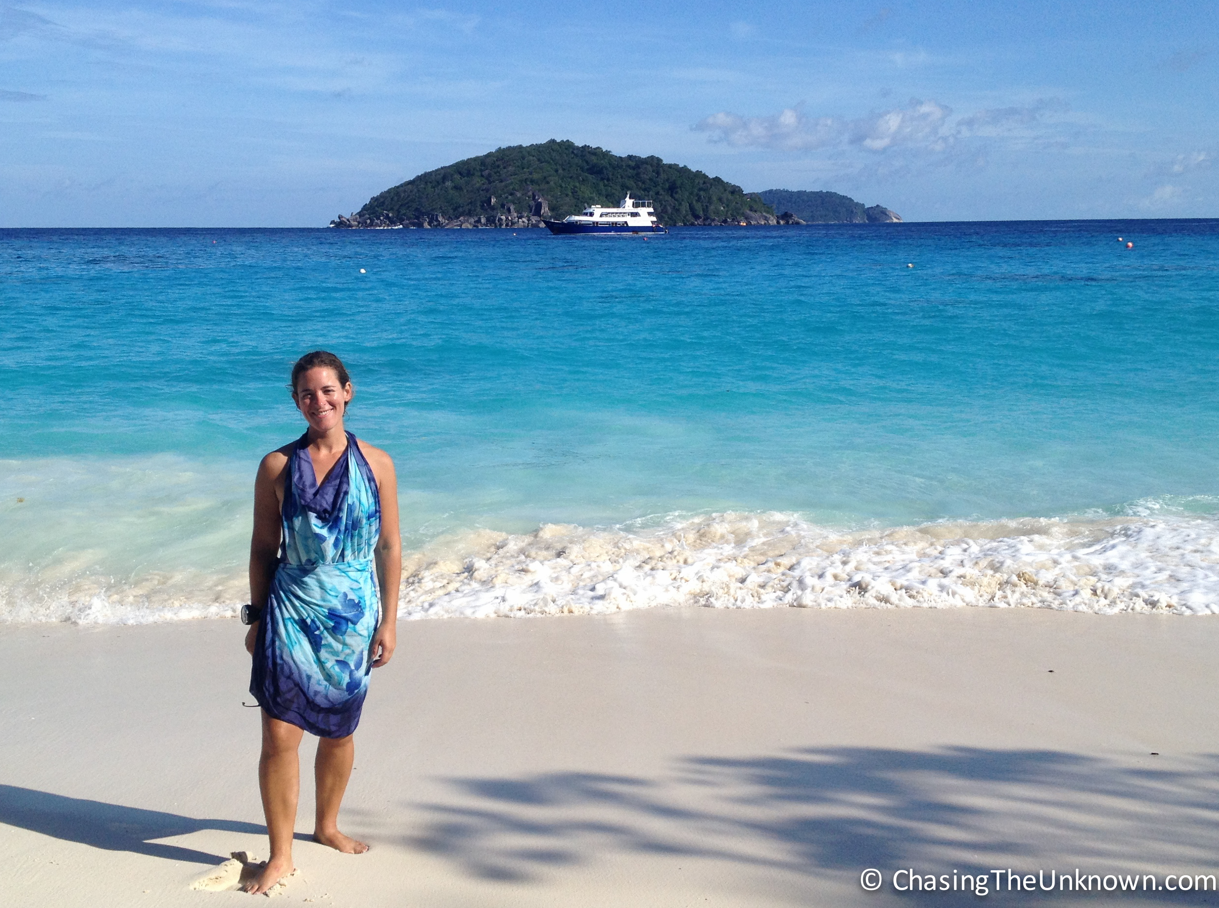 15 dives in 4 days: Liveaboard diving in the Similan Islands