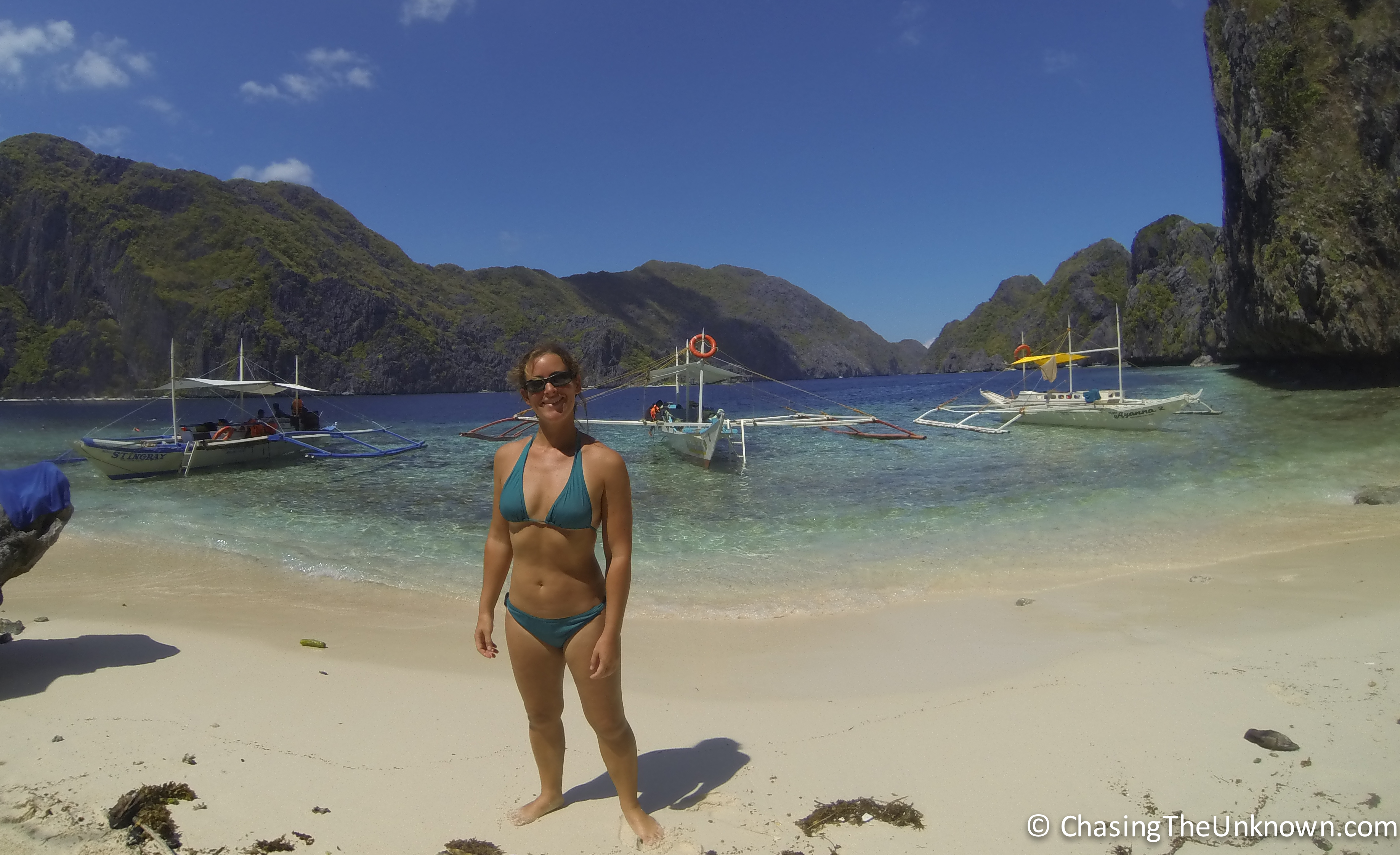 Beautiful El Nido: a far cry from the peace of Port Barton
