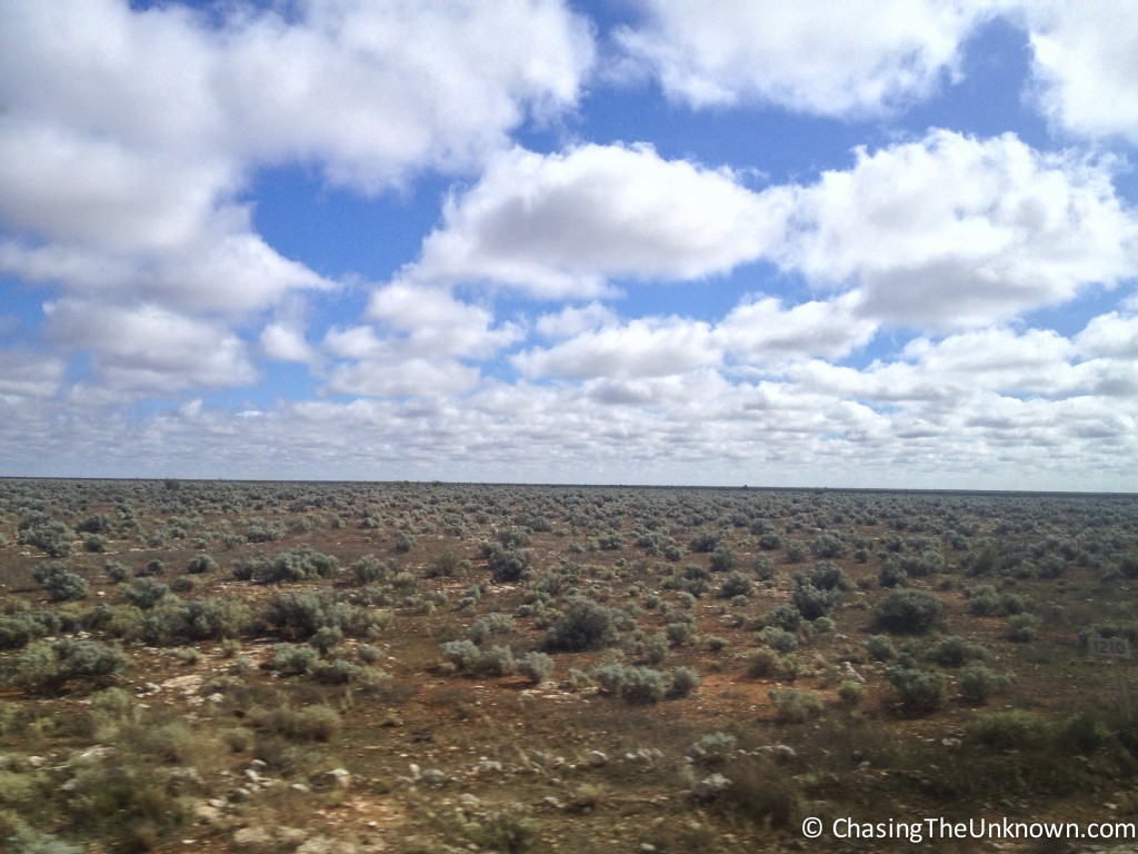 Crossing the Nullarbor Plain