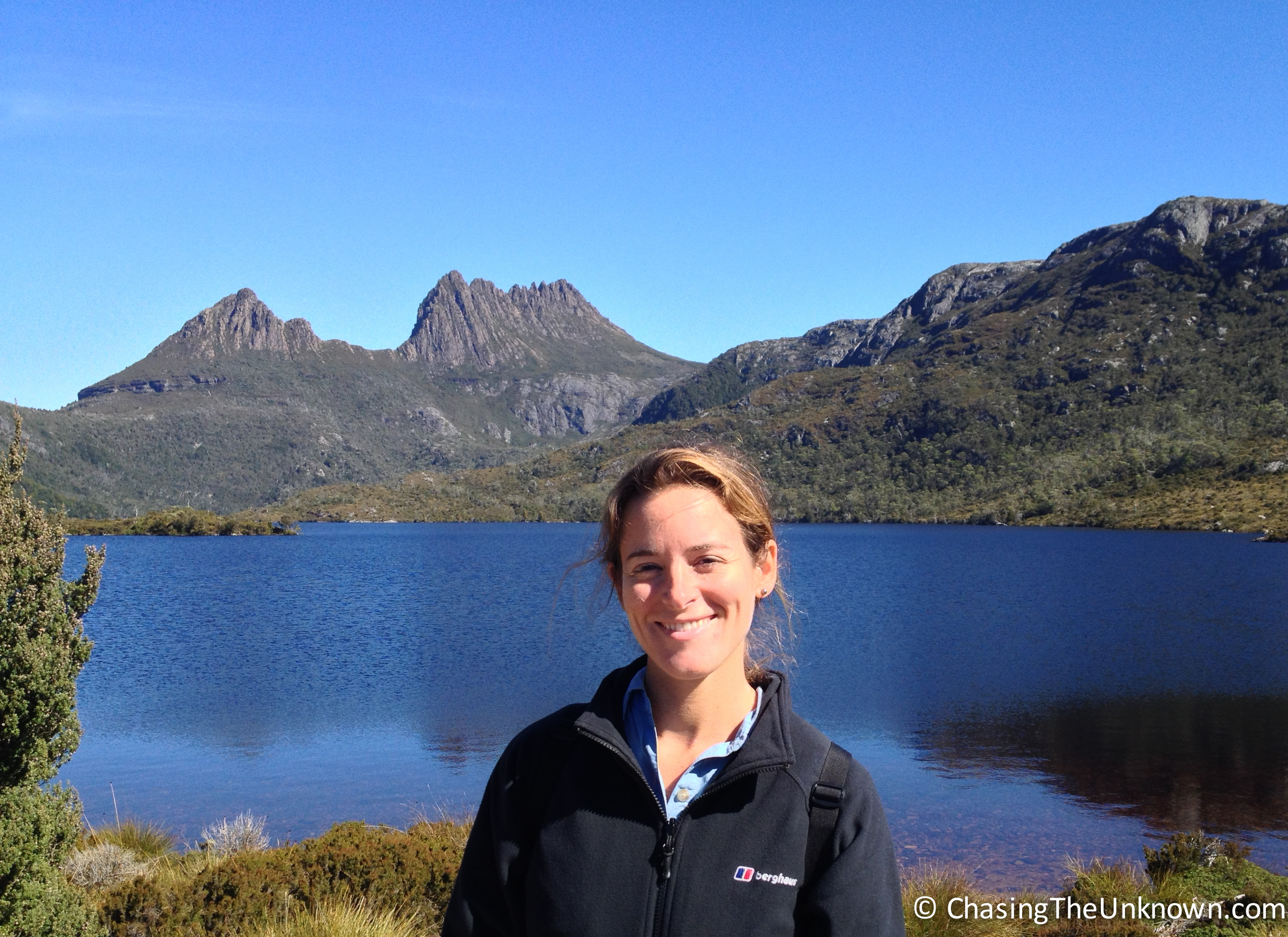 Climbing Cradle Mountain