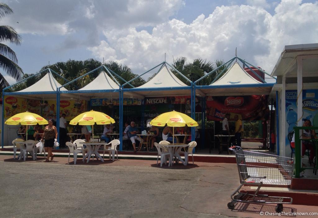 Parking Lot Cafes Havana
