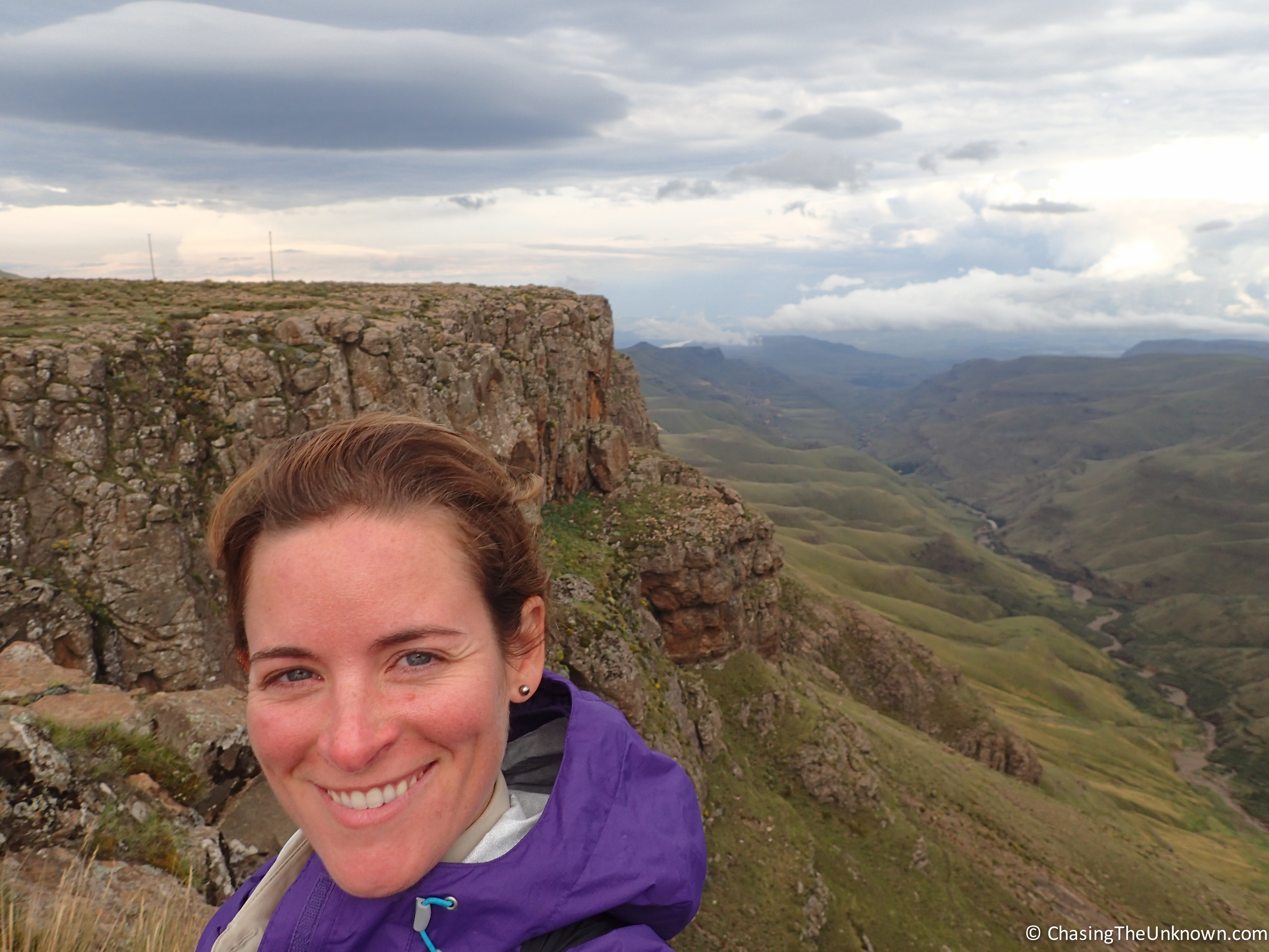 Atop Sani Pass in Lesotho