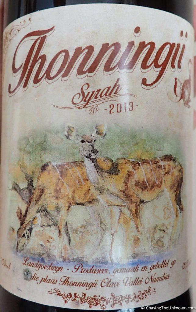 Thonningii-wine