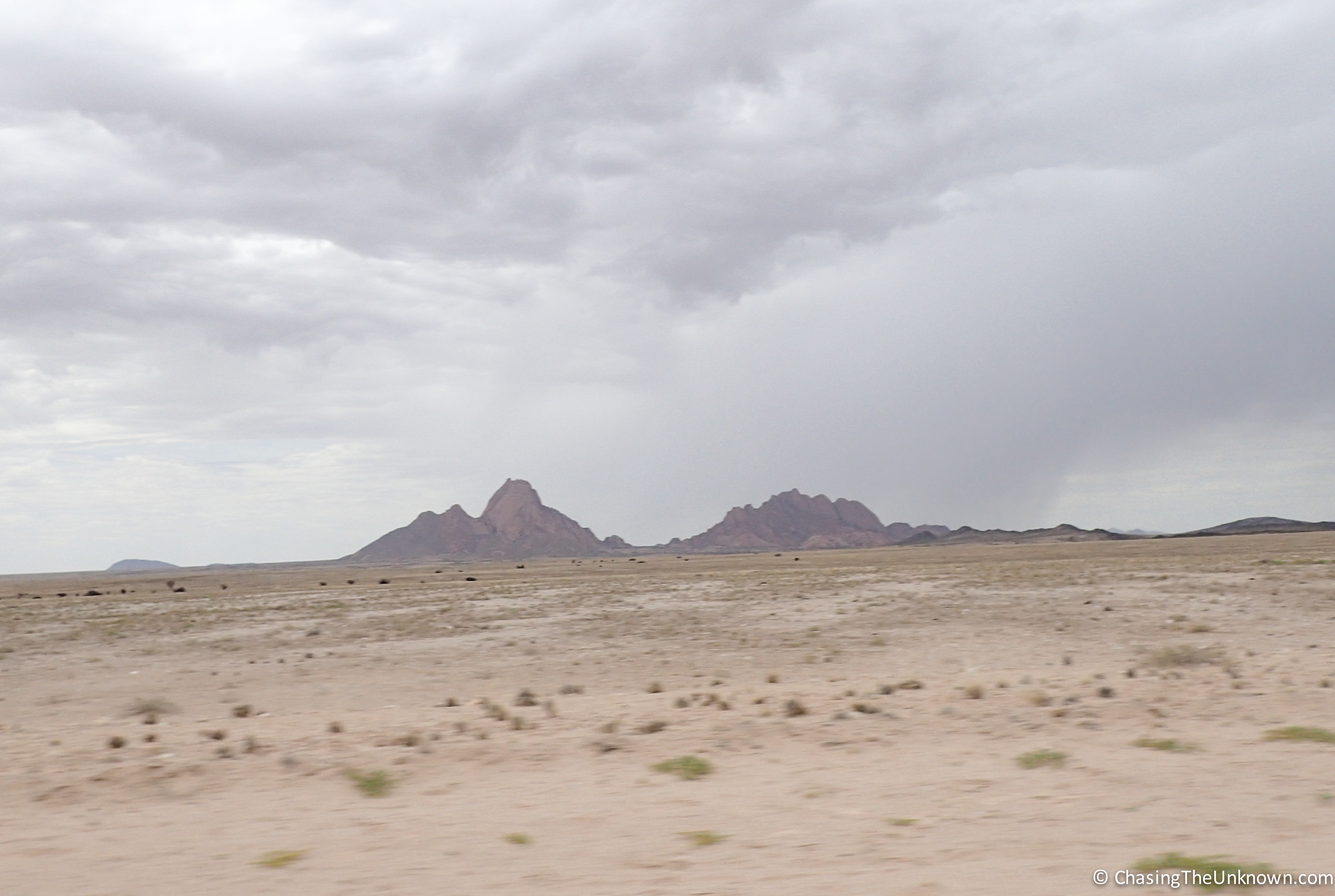 Spitzkoppe-distance