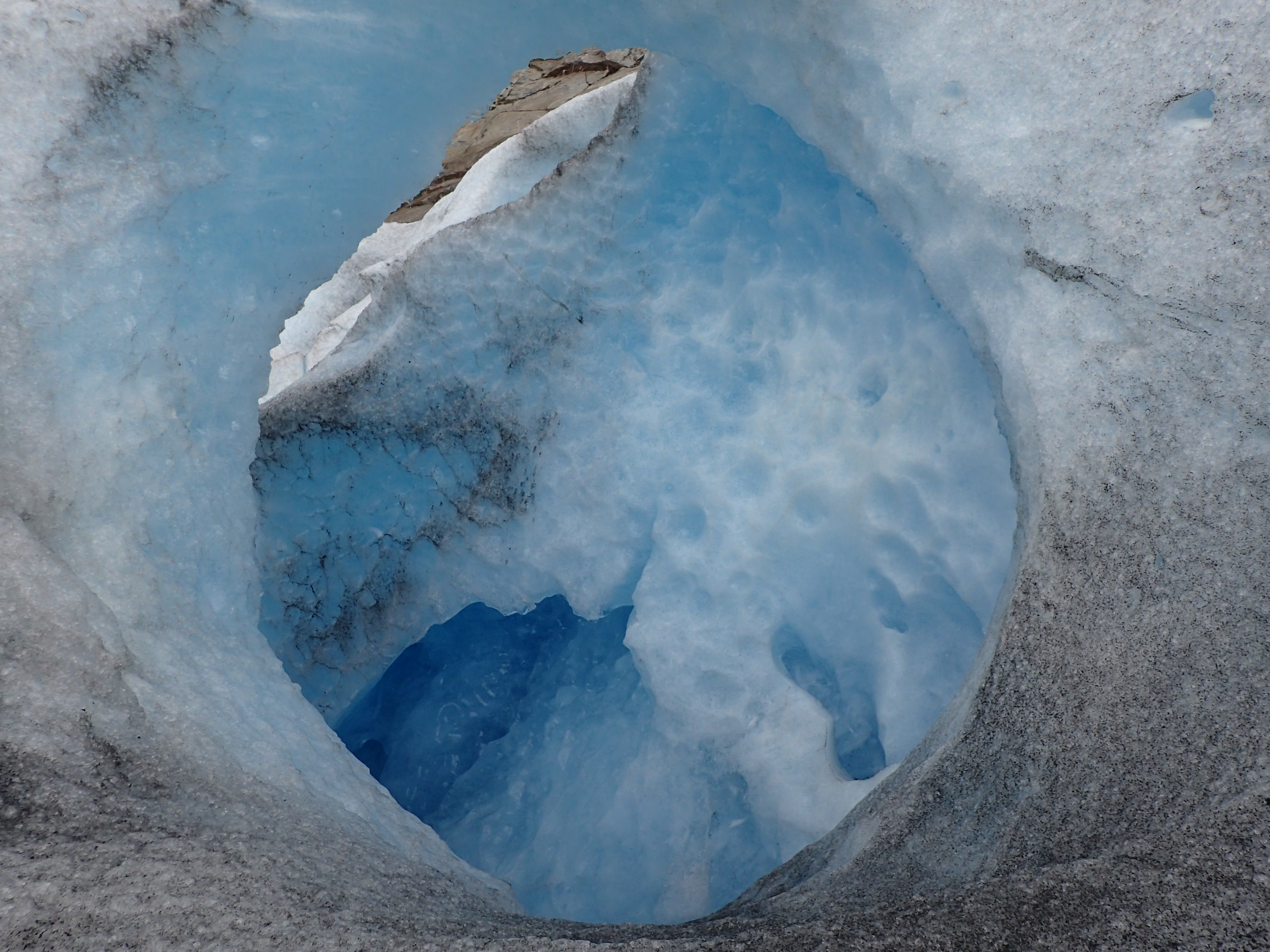 glacier-hole