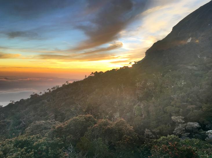sunset-mount-kinabalu-laban-rata