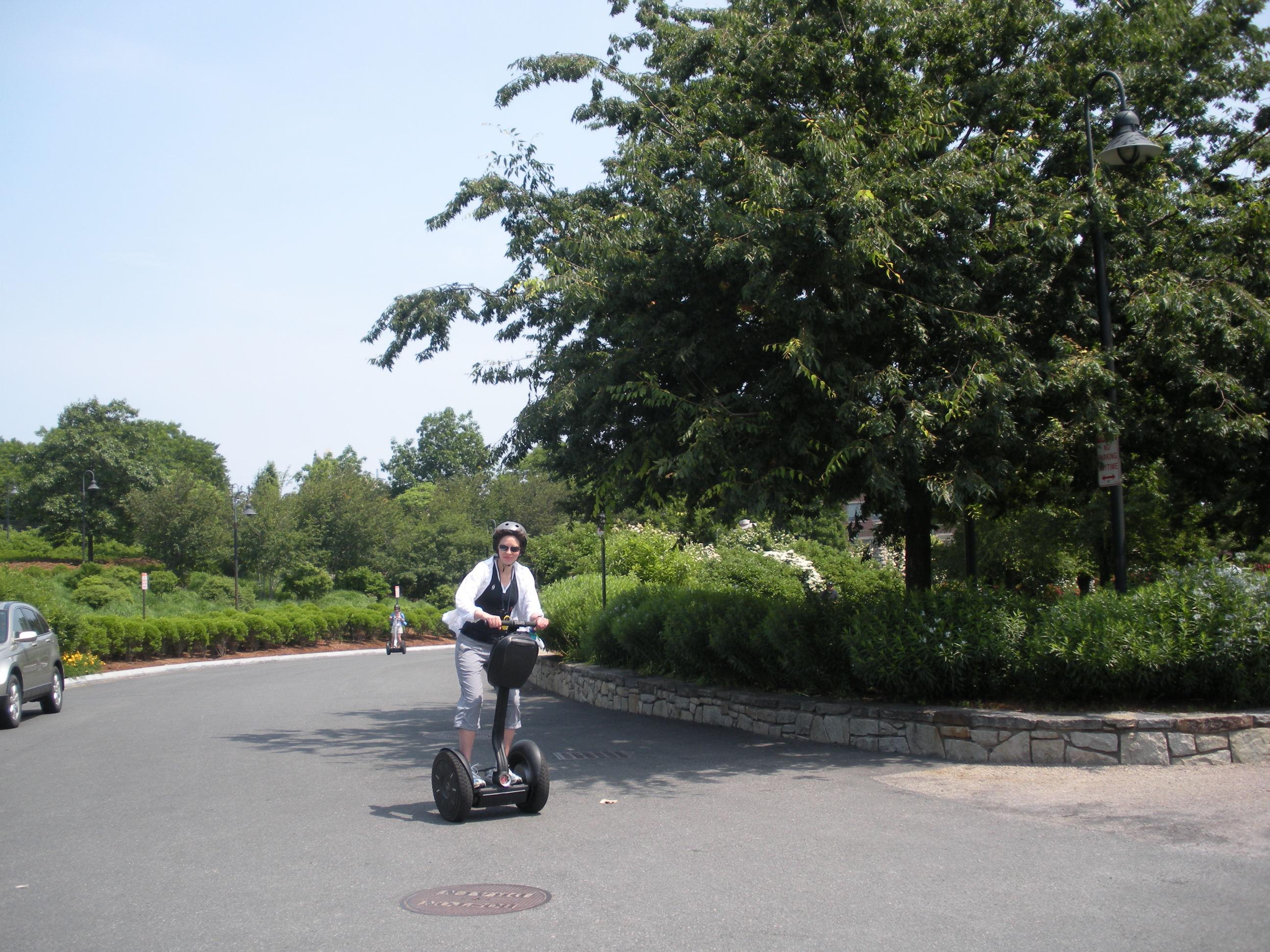 Wheeling Through Boston