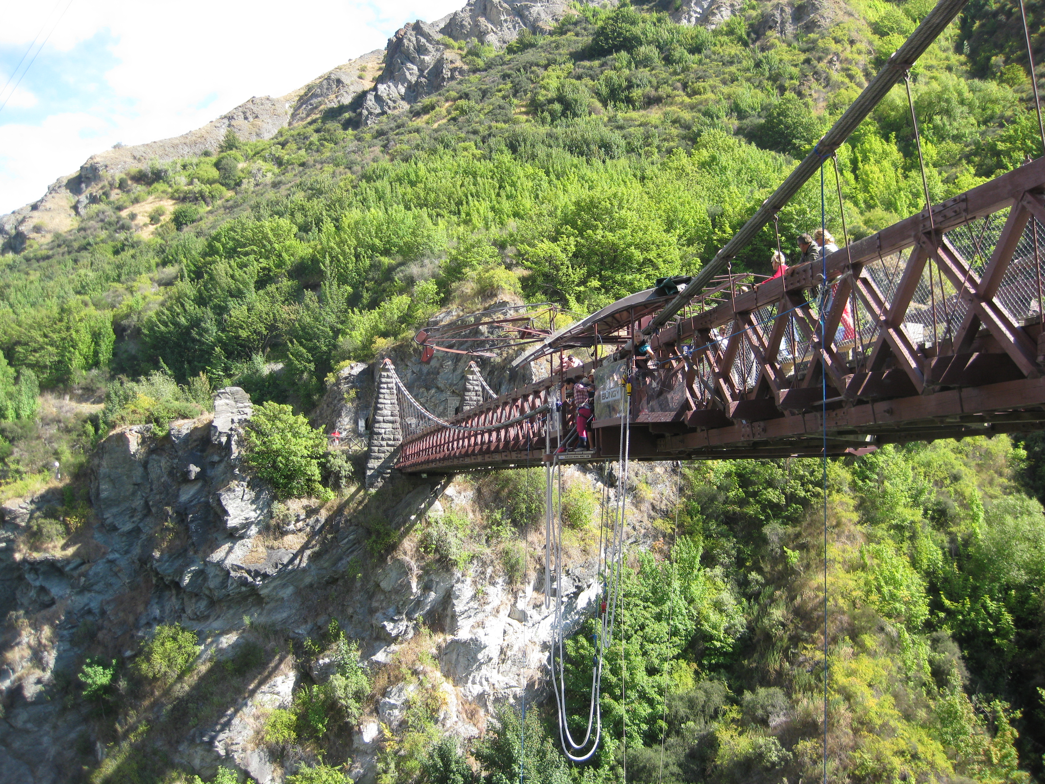 Queenstown Bungy Jumping