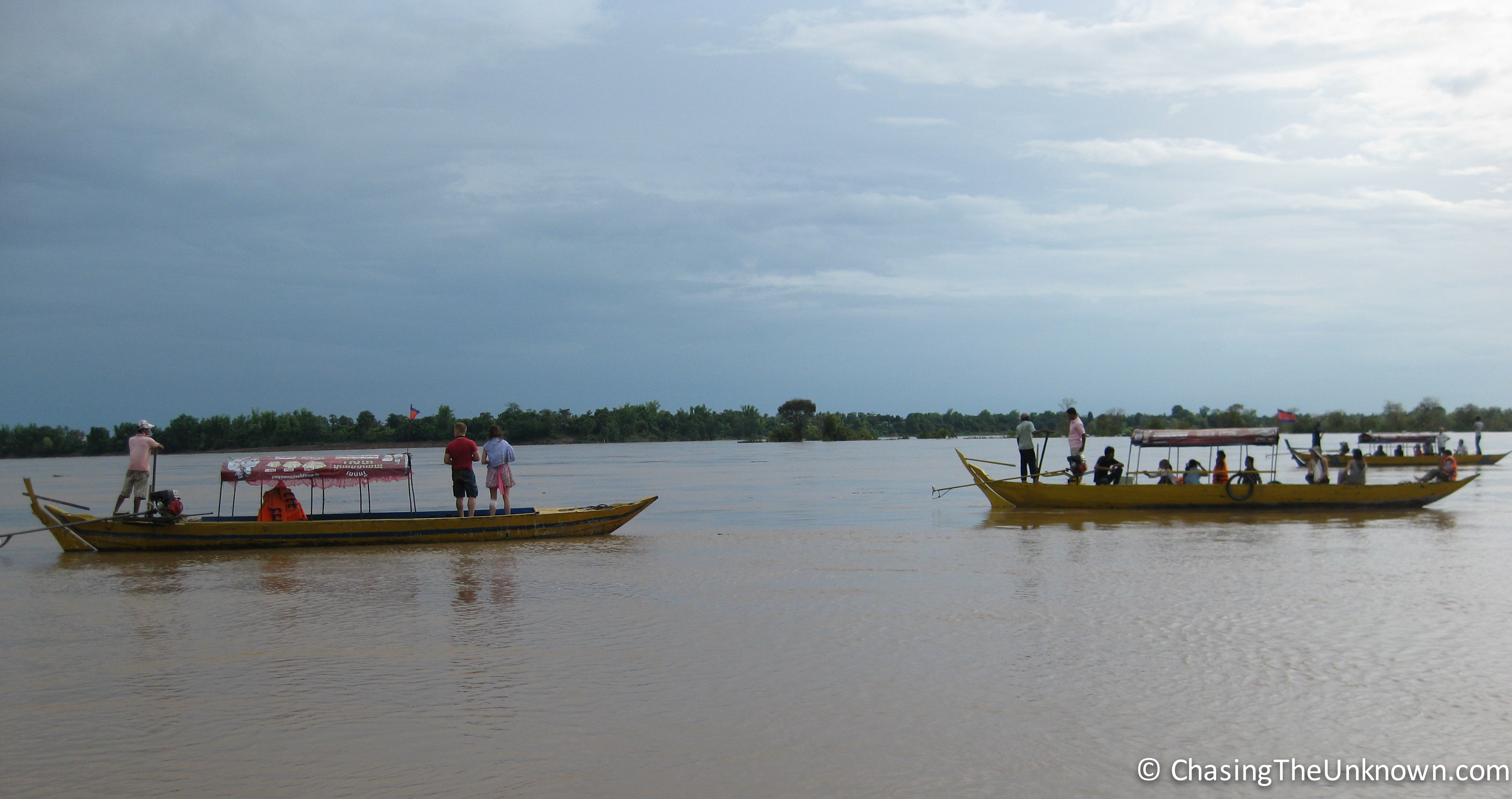 A Moment in Kratie with Irrawaddy Dolphins