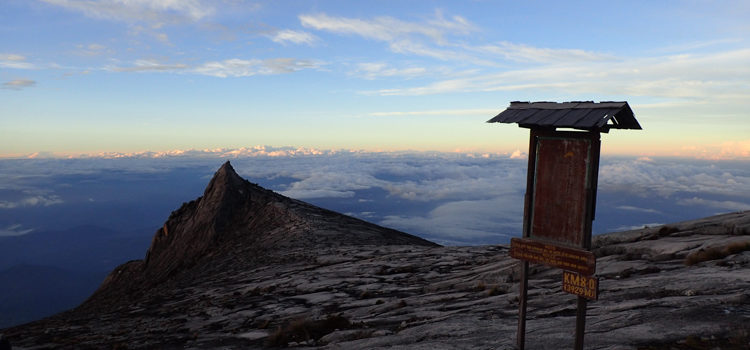 Climbing Mount Kinabalu: overcome with good fortune